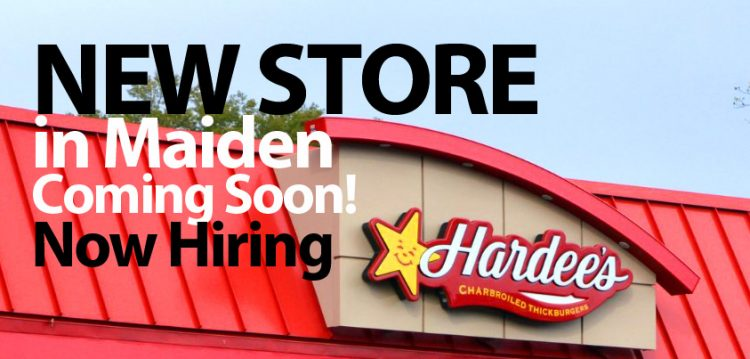 Hardees new store in Maiden